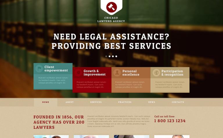 Lawyers Agency Joomla Template