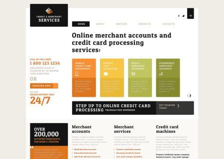 Merchant Services Responsive