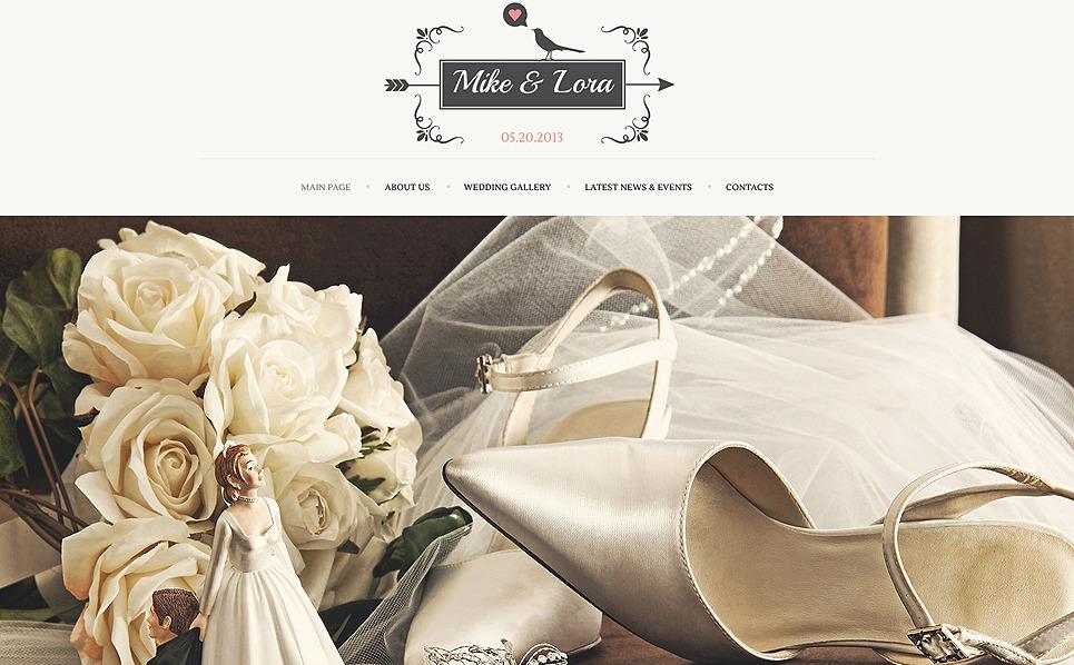 Plantilla web 47762 para sitio de lbumes de bodas - Sitios para bodas ...