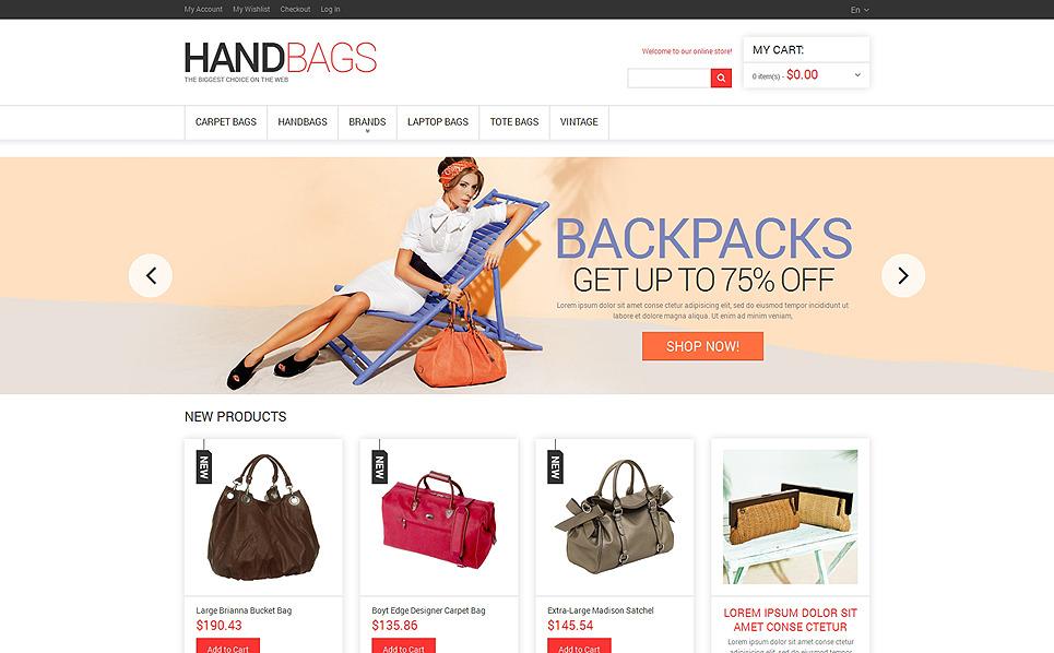 Responsives Magento Theme für Handtasche  New Screenshots BIG