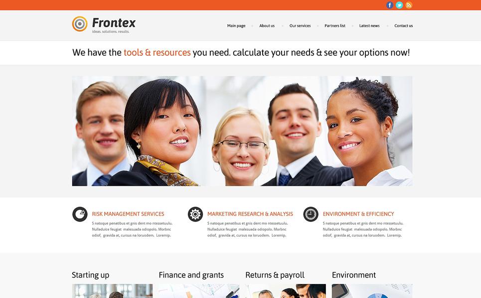 Responsywny motyw WordPress #47783 na temat: biznes i usługi New Screenshots BIG