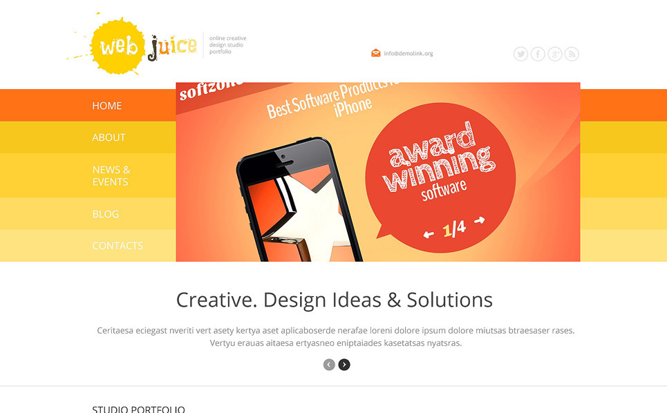 Responsywny motyw WordPress #47787 na temat: web design New Screenshots BIG