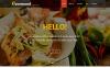 Responsywny motyw WordPress Gourmet Restaurant #47709 New Screenshots BIG
