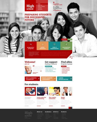 University Responsive Šablona Webových Stránek