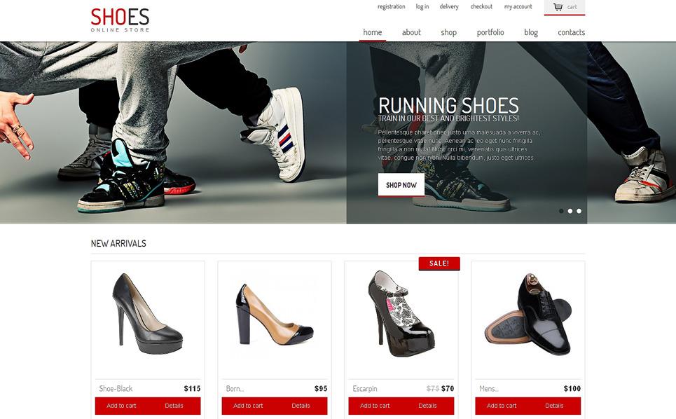 Reszponzív Cipőboltok WooCommerce sablon New Screenshots BIG