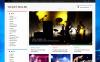 Reszponzív Jegyek weboldal  OpenCart sablon New Screenshots BIG