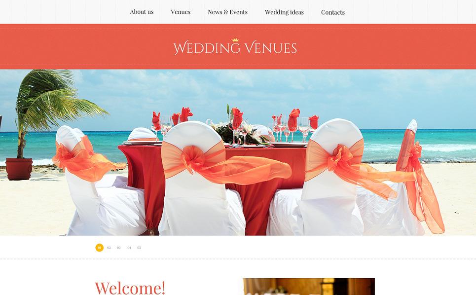 Reszponzív Esküvőszervezők  Weboldal sablon New Screenshots BIG