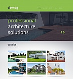 Architecture Moto CMS HTML  Template 47812