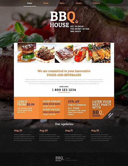 ADOBE Photoshop Template 47813 Home Page Screenshot