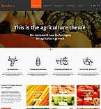 Agriculture Moto CMS HTML  Template 47819