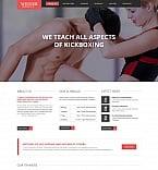 Sport Moto CMS HTML  Template 47821