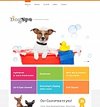 Animals & Pets Moto CMS HTML  Template 47825