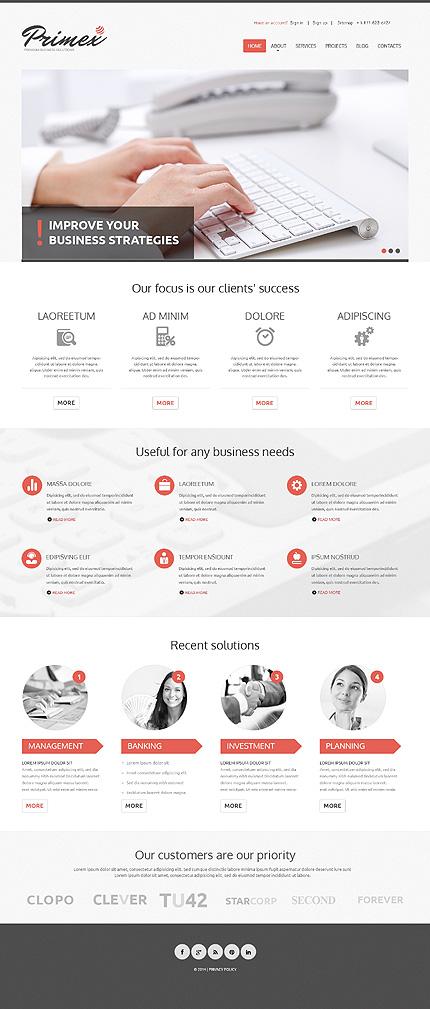 WordPress Theme/Template 47827 Main Page Screenshot