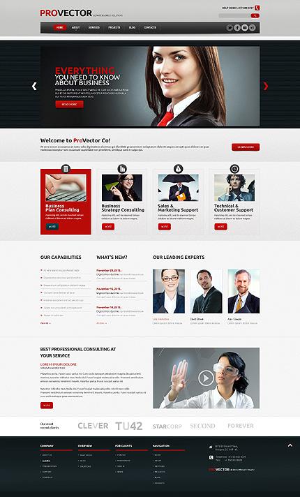 WordPress Theme/Template 47828 Main Page Screenshot