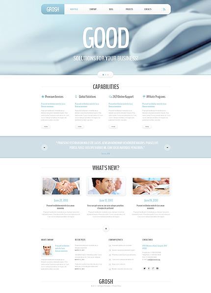 WordPress Theme/Template 47830 Main Page Screenshot