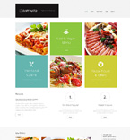 Cafe & Restaurant WordPress Template 47831