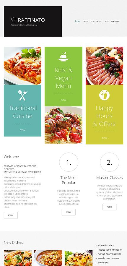 WordPress Theme/Template 47831 Main Page Screenshot