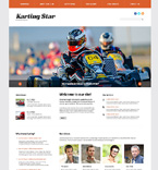 Sport WordPress Template 47832