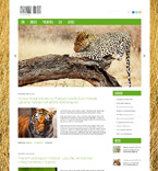 Animals & Pets WordPress Template 47833