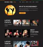 Sport Website  Template 47838