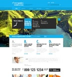 Society and Culture Website  Template 47841