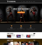 Sport Website  Template 47842