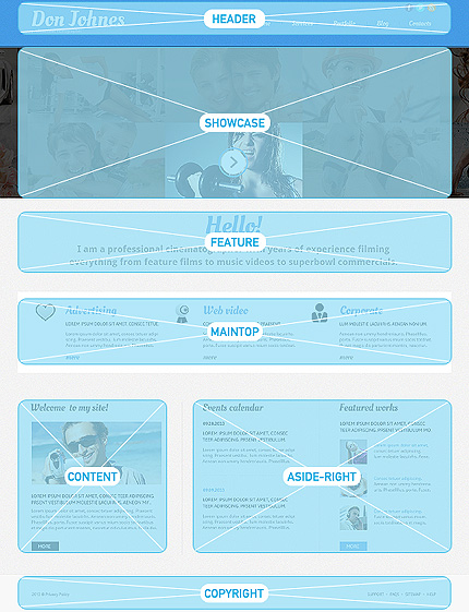 Joomla Theme/Template 47853 Main Page Screenshot