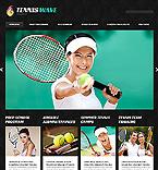 Sport Joomla  Template 47854