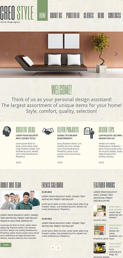 Joomla Theme/Template 47855 Main Page Screenshot