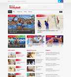 Sport WordPress Template 47858