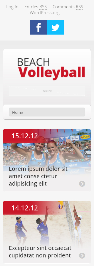 WordPress Theme/Template 47858 Main Page Screenshot