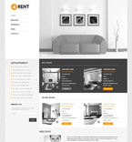 Real Estate WordPress Template 47860