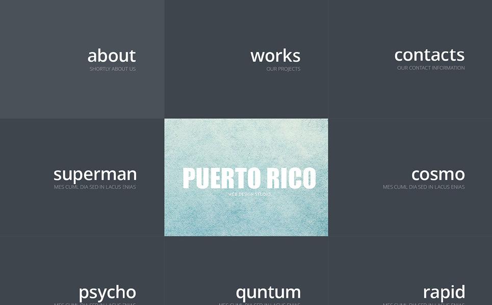 Responsywny szablon strony www #47879 na temat: studio projektowe New Screenshots BIG