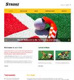 Sport Website  Template 47880