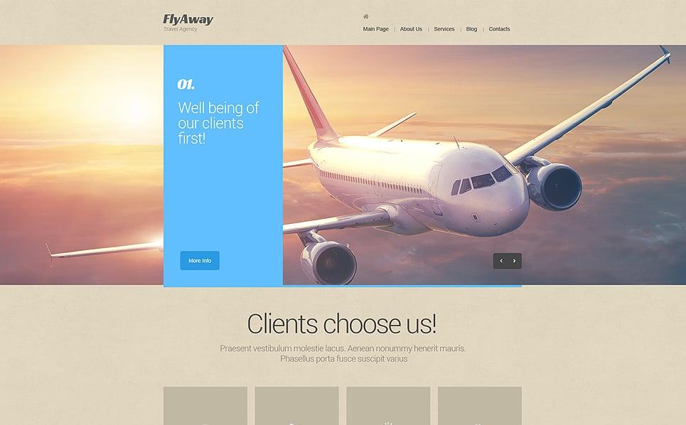 Plantilla Drupal #47883 para Sitio de Aerolínea privada New Screenshots BIG