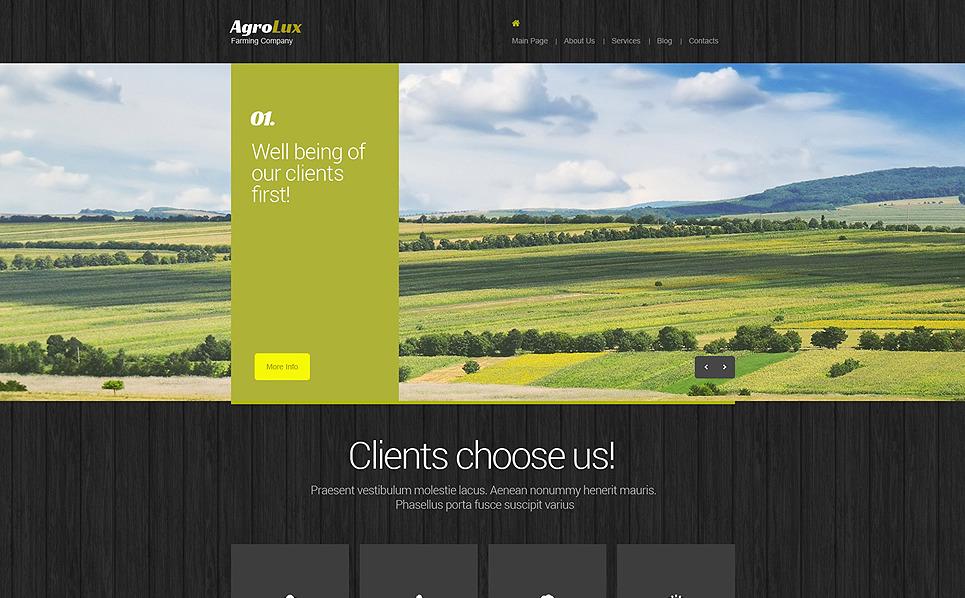 农业Drupal模板 New Screenshots BIG