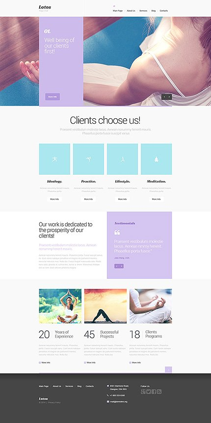 Drupal Template 47886 Main Page Screenshot