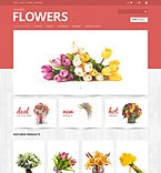 Flowers PrestaShop Template 47887