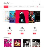 Music WooCommerce Template 47891