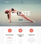 Sport Website  Template 47892