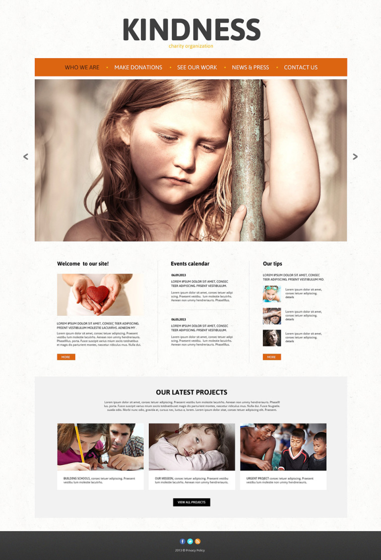 Child Charity Responsive Joomla Template New Screenshots BIG