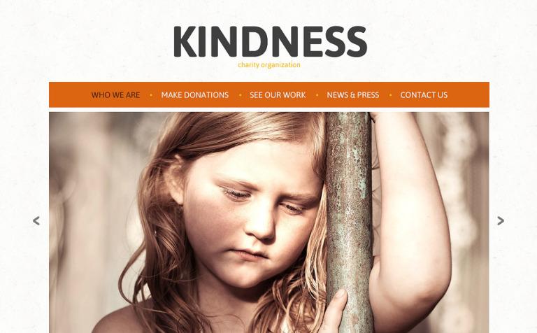 Child Charity Responsive Joomla Template