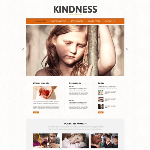 Kind Ness - Charity Template based on Bootstrap