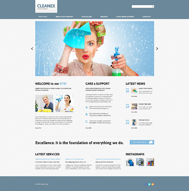 cleaning responsive joomla template 45335 cleaning responsive joomla template 47850