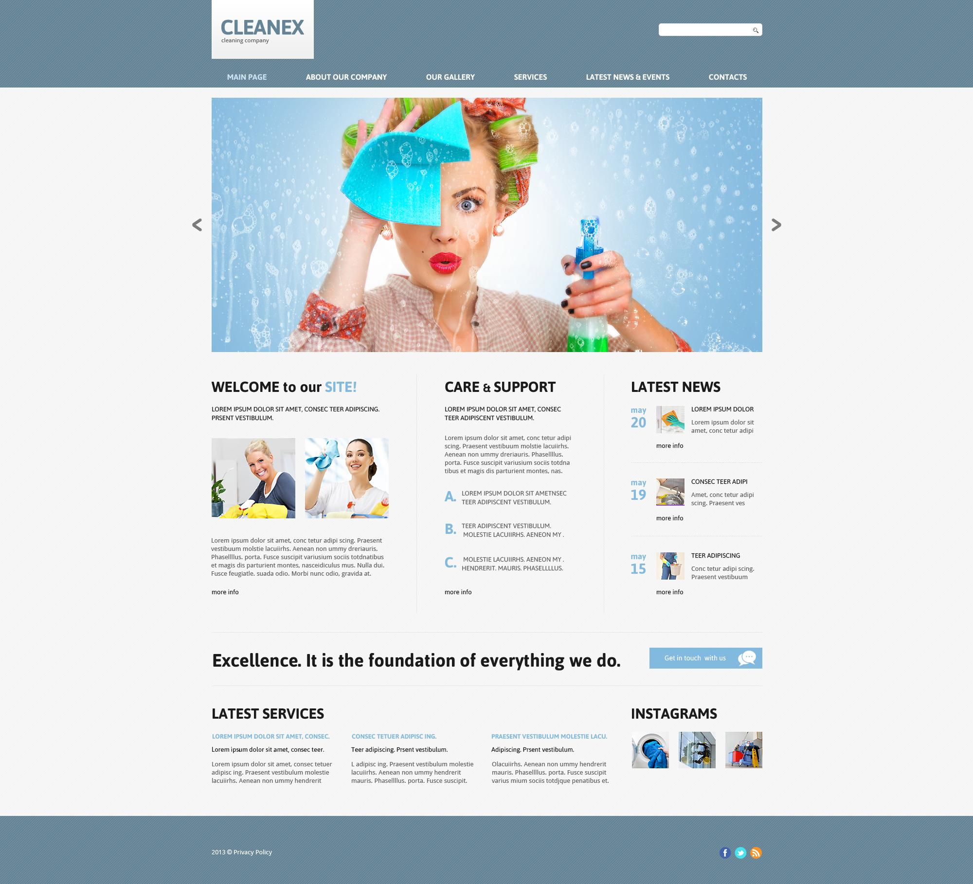 10 clean and responsive joomla templates blogoftheworld cleaning responsive joomla template 47850