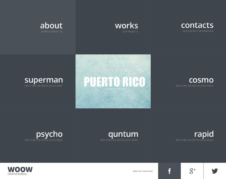 Design Studio Responsive Website Template New Screenshots BIG