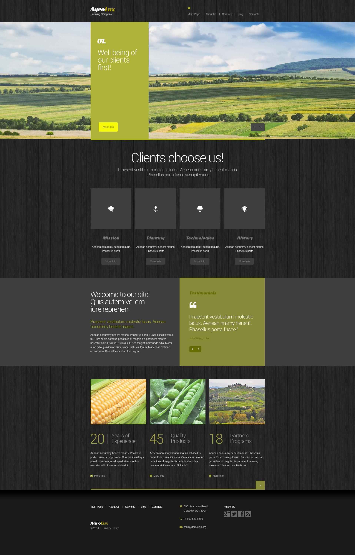 Farm Drupal Template