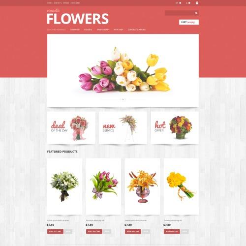 Flowers  - Responsive PrestaShop Template