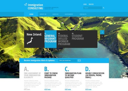 Immigration Consulting Responsive