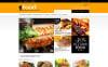 """""""Online Orders of Meals"""" thème PrestaShop adaptatif New Screenshots BIG"""